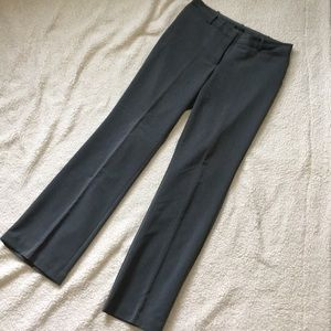 Charcoal gray LONG dress pants